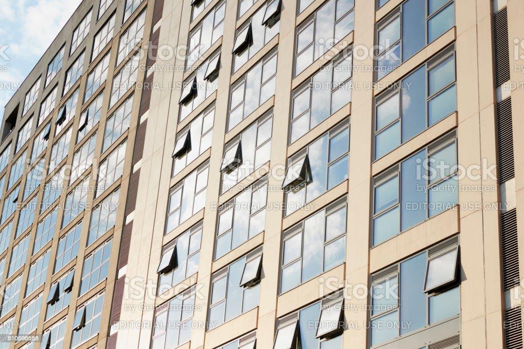 Birmingham, UK - 6 November 2016: Exterior Of Office Buildings In Birmingham City Centre stock photo