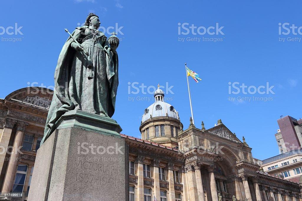 Birmingham UK stock photo