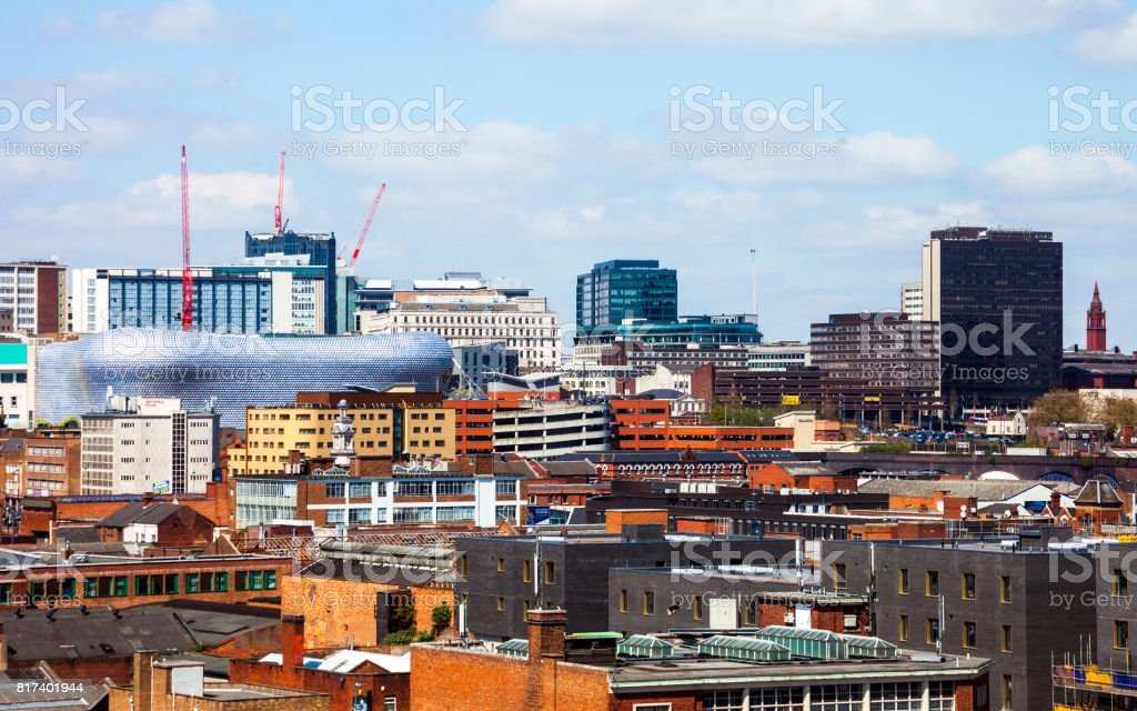 Birmingham, UK stock photo