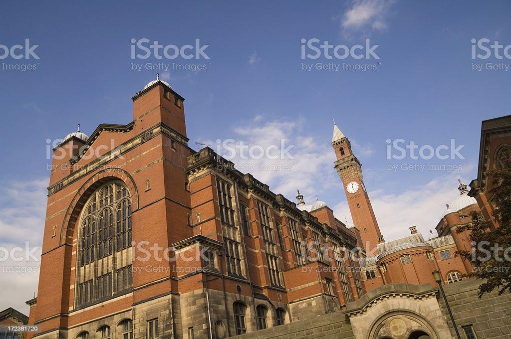 Birmingham University stock photo
