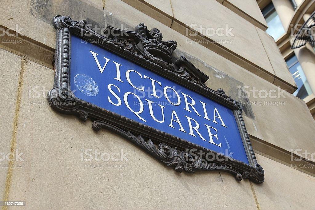 Birmingham - Victoria Square royalty-free stock photo