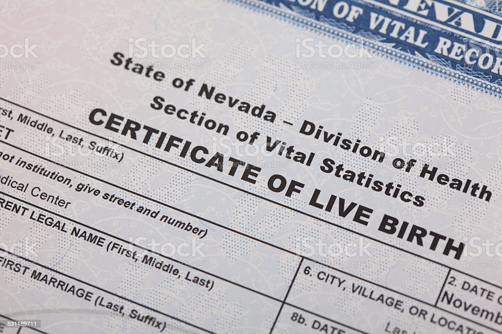 Birth Certificate Stock Photo & More Pictures of 2015 | iStock