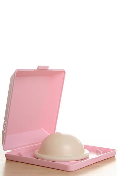 Birth Control: Diaphragm (Sexuality Series) stock photo