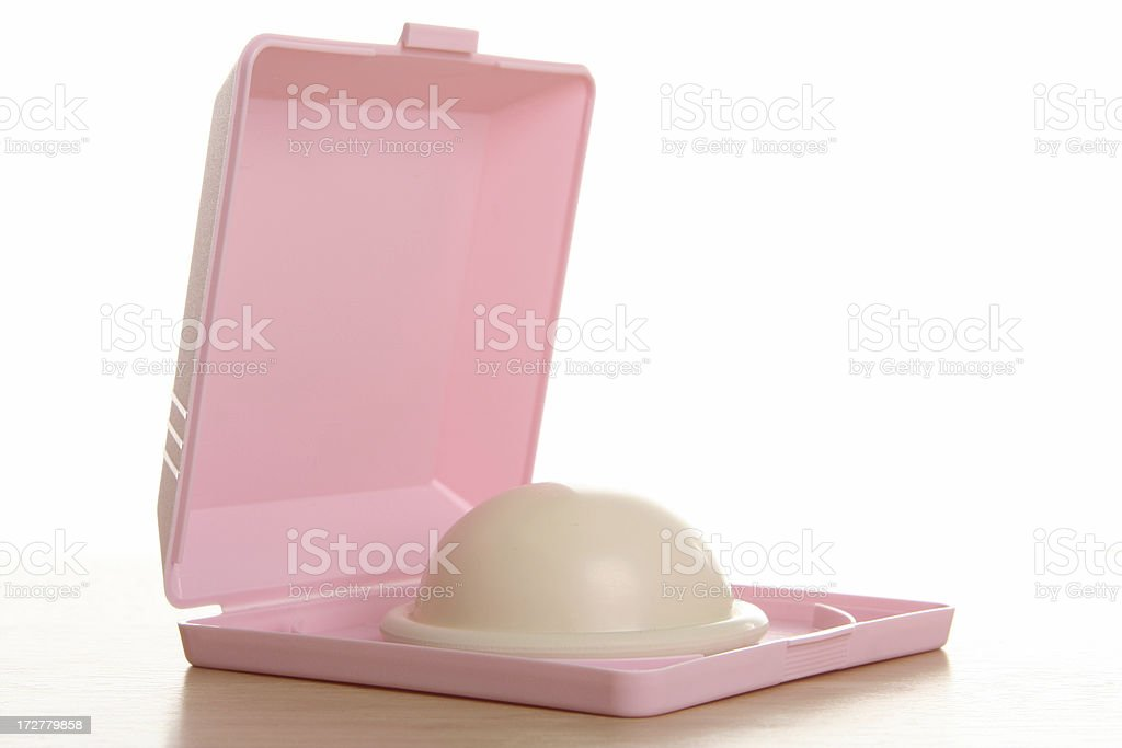 Birth Control: Diaphragm (Sexuality Series) royalty-free stock photo