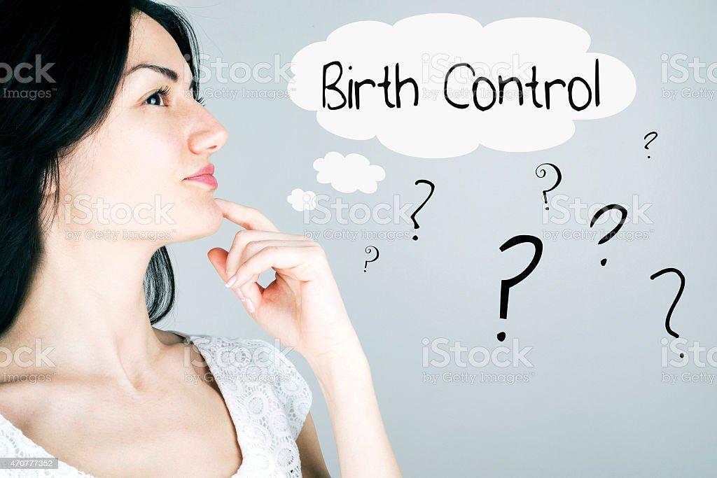 Control de anticonceptivos - foto de stock