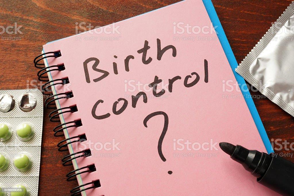 Controle de nascimento - foto de acervo