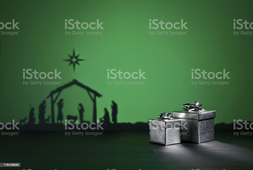 Birth Jesus royalty-free stock photo