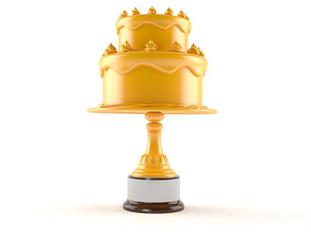geburtstag award - super torte stock-fotos und bilder