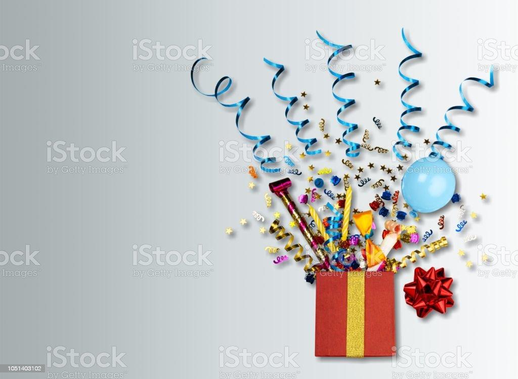 Birthday background. stock photo