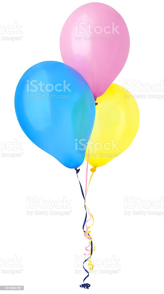 Birthday Balloons stock photo