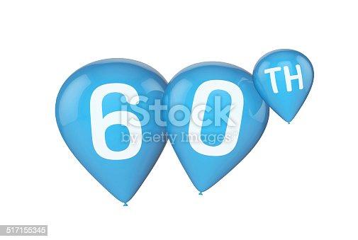 istock Birthday balloons 517155345