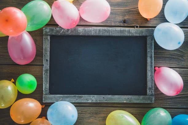 Objets et anniversaire ballons - Photo