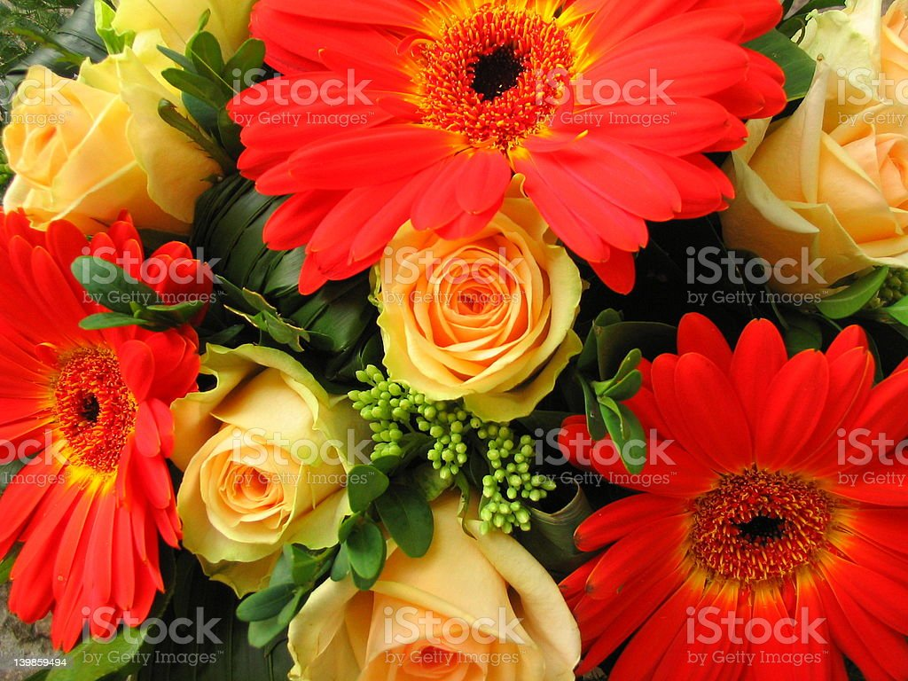 birthday bouquet royalty-free stock photo