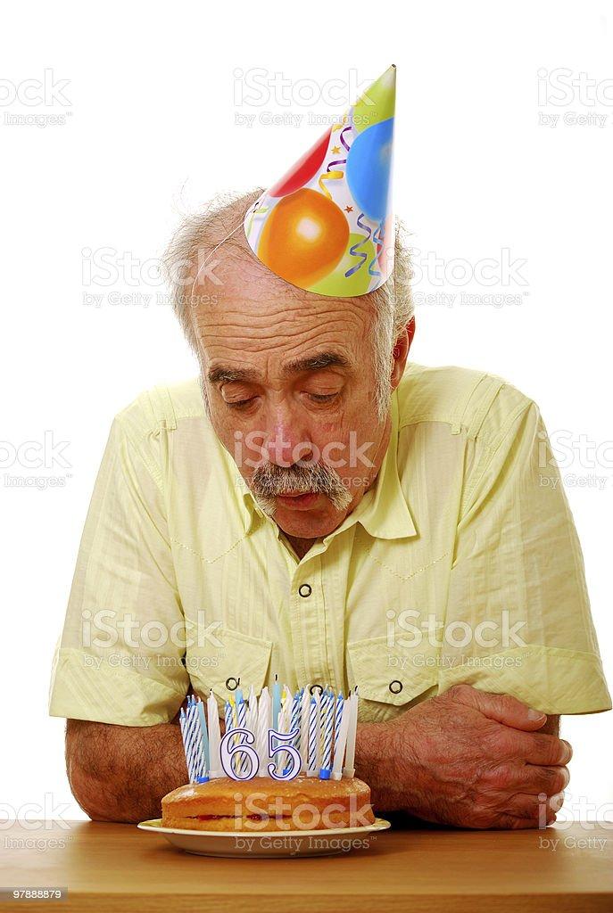 Birthday boy royalty-free stock photo