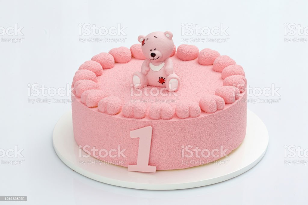 Magnificent Birthday Cake One Year Old Stock Photo Download Image Now Istock Funny Birthday Cards Online Elaedamsfinfo