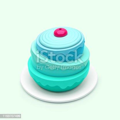 istock Birthday cake 1153707499