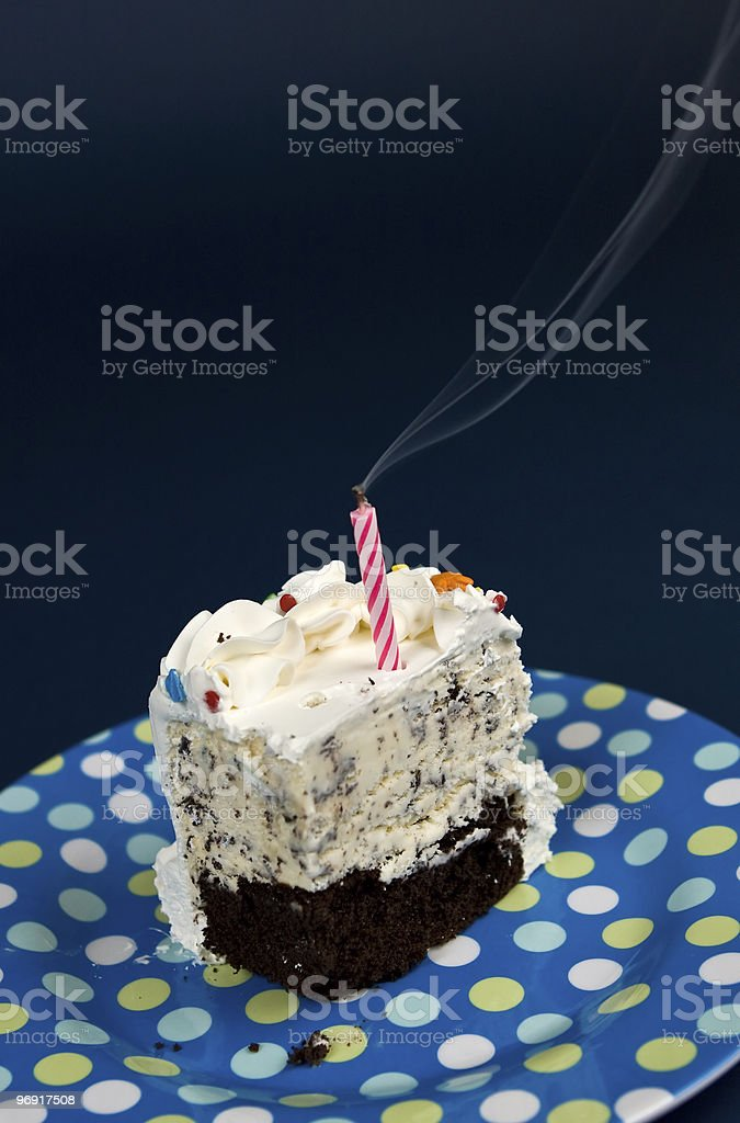 Birthday Cake Series royalty-free stock photo