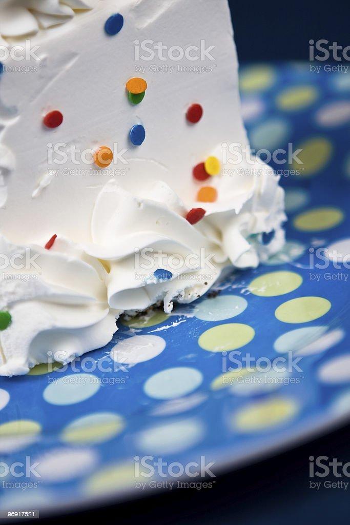 Birthday Cake Series royalty-free stock photo