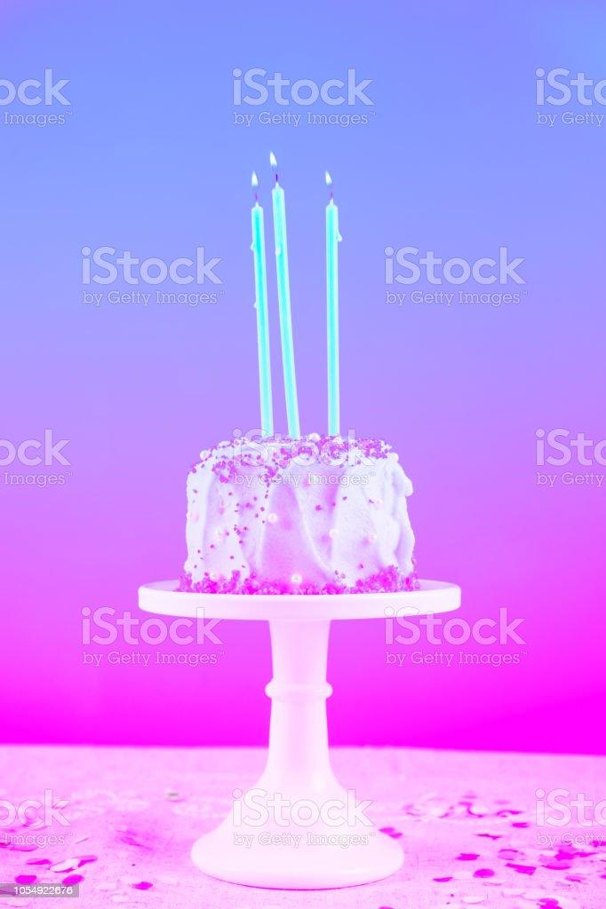 Tremendous Birthday Cake With Candles Birthday Party Celebration Concept Funny Birthday Cards Online Inifodamsfinfo