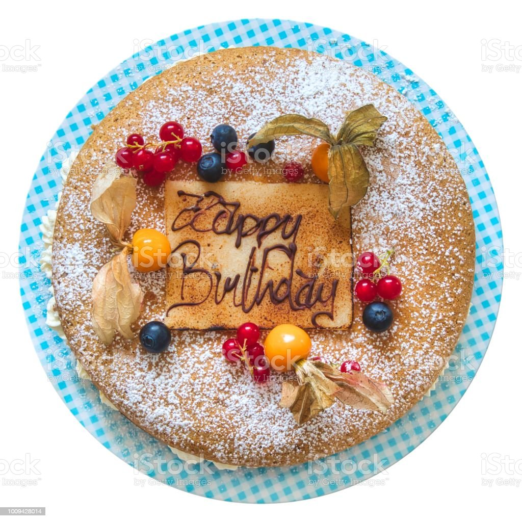 Awe Inspiring Birthday Cake With Piped Message In Chocolate Writing With The Funny Birthday Cards Online Chimdamsfinfo