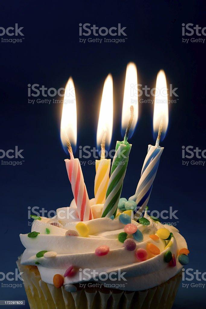 Birthday Candles royalty-free stock photo
