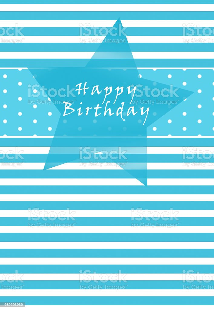 Birthday card 免版稅 stock photo
