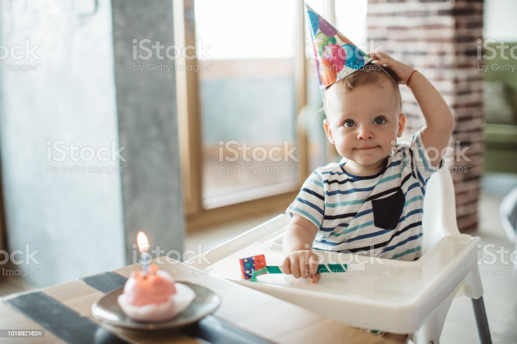 Birthday celebration stock photo