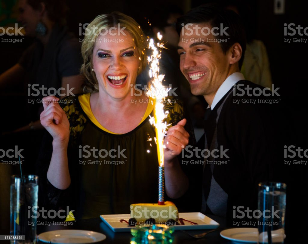 Birthday Celebration royalty-free stock photo