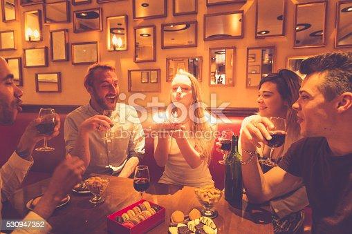 istock Birthday Celebration With Close Friends 530947352