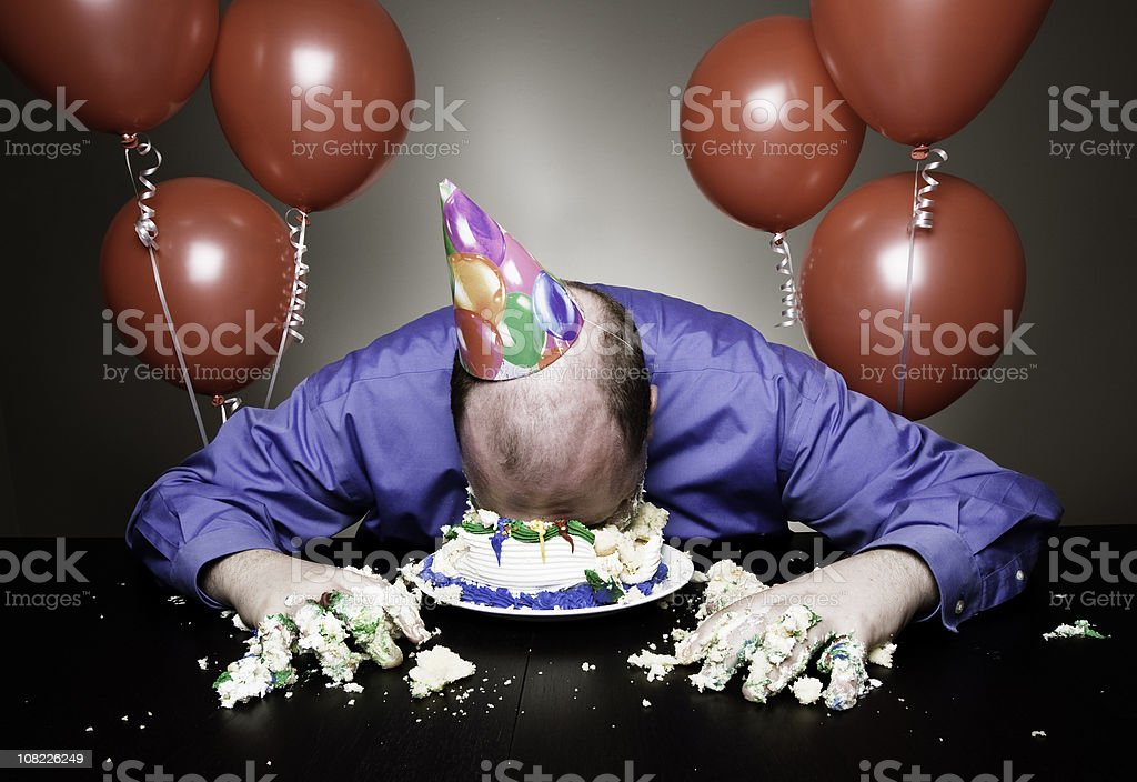 Birthday Celebrations royalty-free stock photo