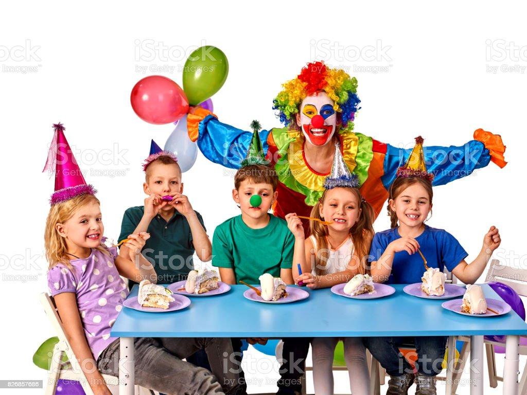 Super Verjaardag Kind Clown Spelen Met Kinderen Kind Vakantie Taarten BI-78