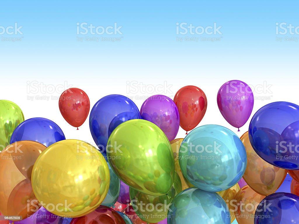 Birthday clipart royalty-free stock photo