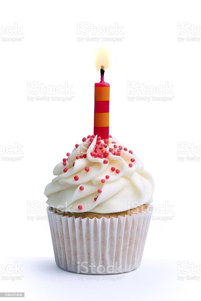 gateau anniversaire fond blanc - photos et images libres de droits