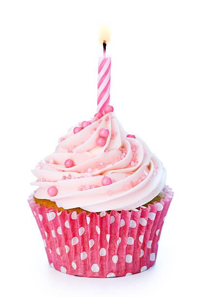 Geburtstag cupcake – Foto
