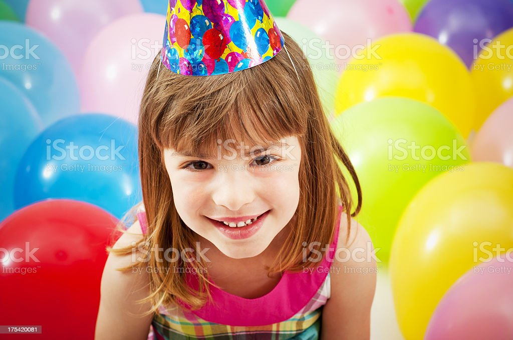 Birthday cutie royalty-free stock photo