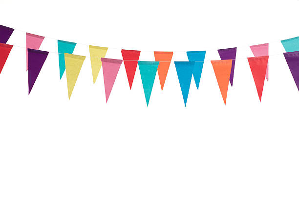 Birthday decoration flags – Foto