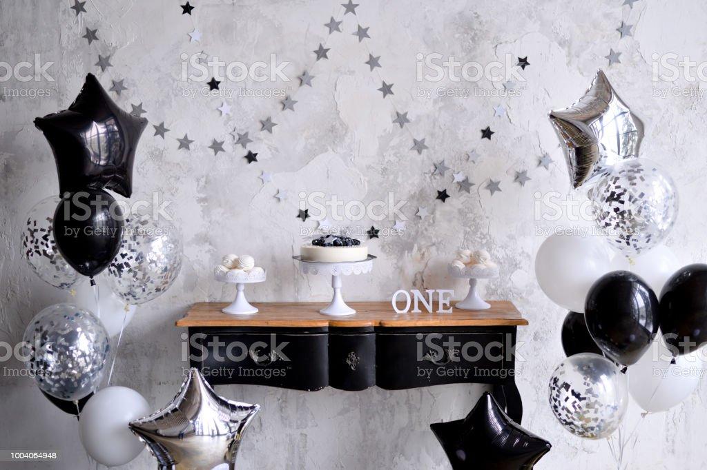 Birthday Decorations Black Balloons