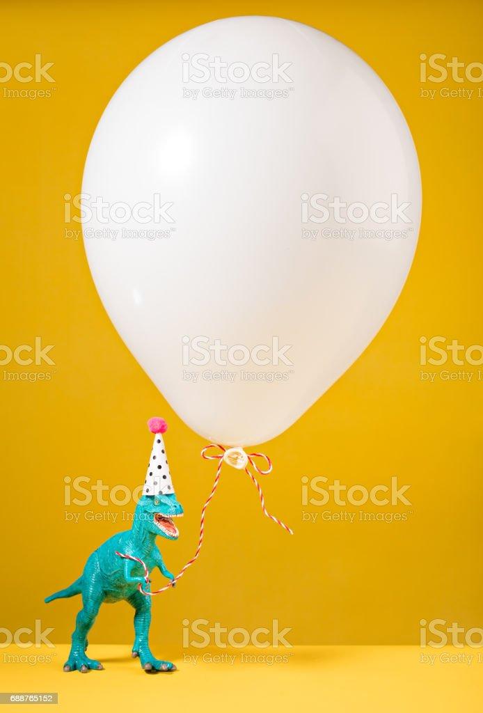 Aniversário dinossauro - foto de acervo