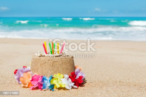 istock Birthday Gift of Vacationing in Tropical Paradise Beach Hz 185121680