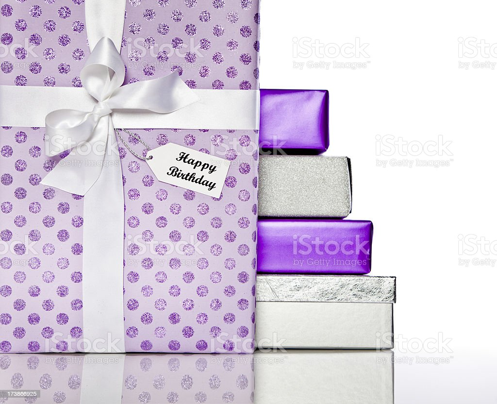 Birthday Gifts royalty-free stock photo