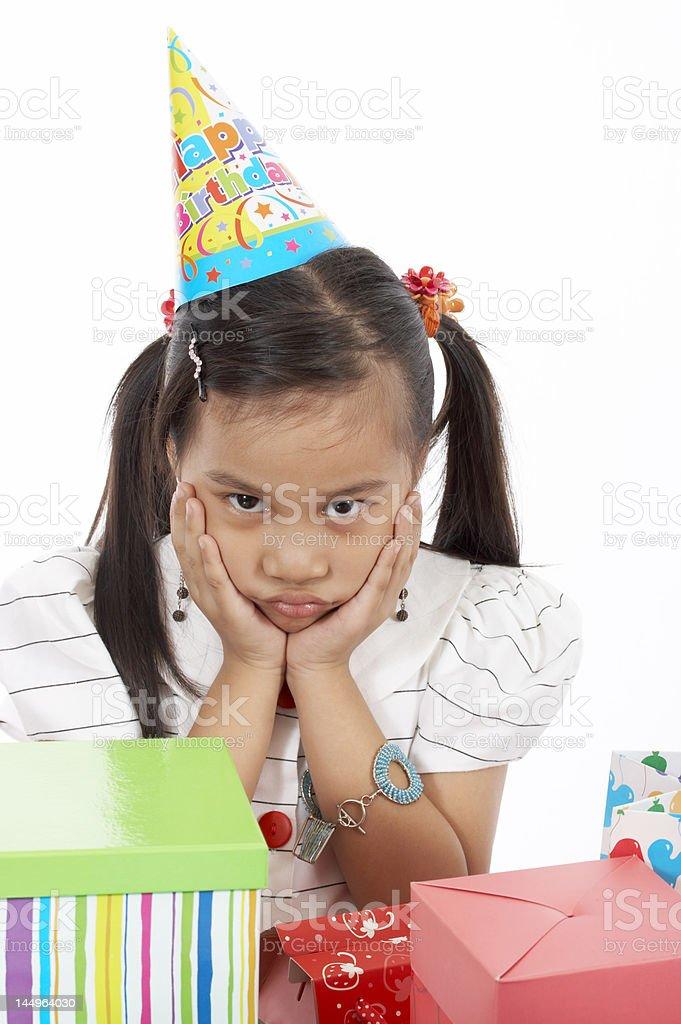 birthday girl royalty-free stock photo
