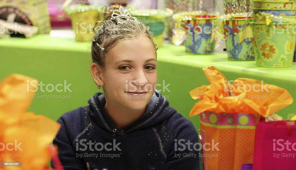 Birthday girl - Royalty-free Adolescence Stock Photo