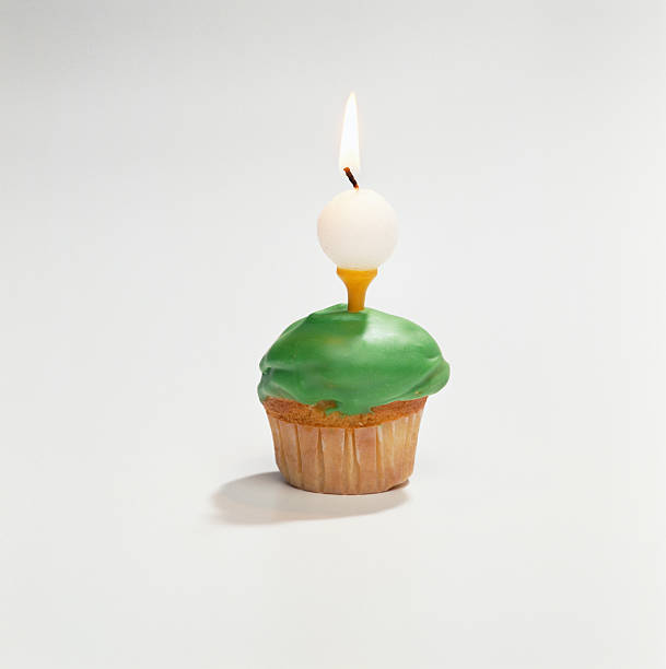 Geburtstag cupcake Golf ball – Foto