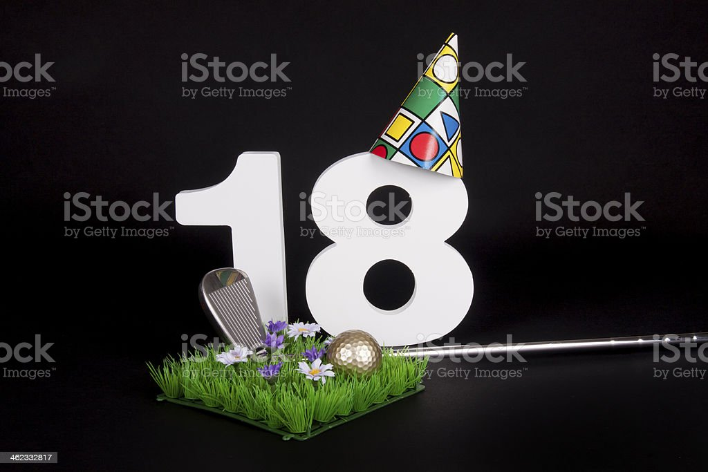 Geburtstag Golf – Foto