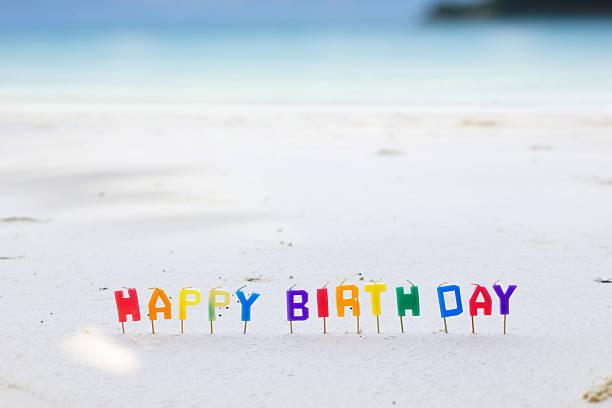Geburtstag in tropischen – Foto
