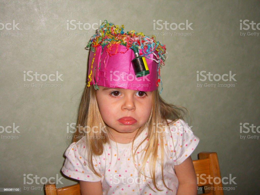 Birthday misery zbiór zdjęć royalty-free