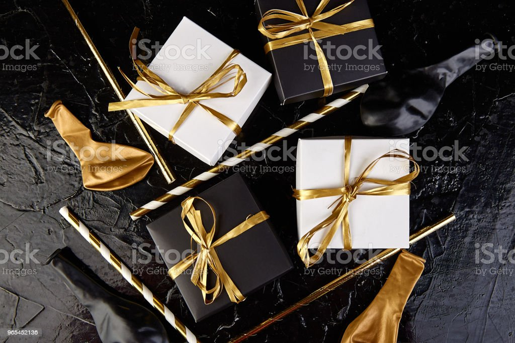 Birthday or Party accessories. royalty-free stock photo