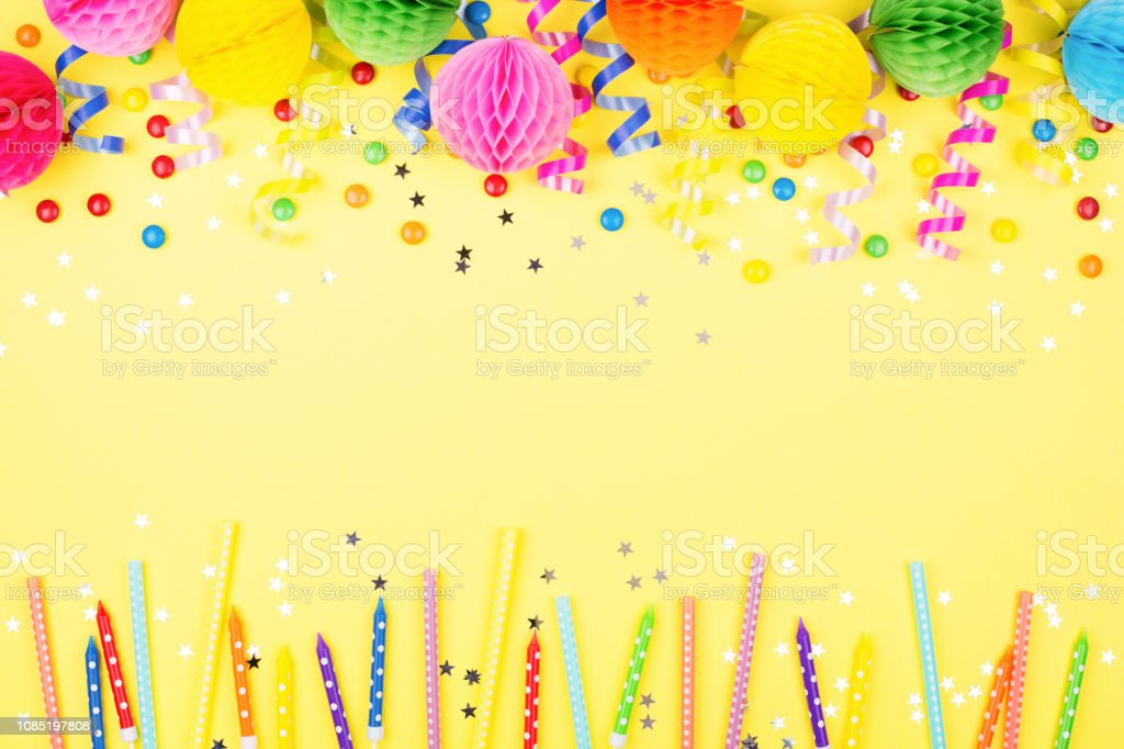 Birthday Party Background Stock Photo Download Image Now Istock