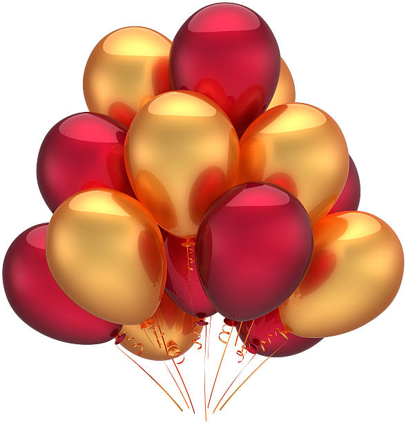 Yellow Balloons Stock Photos, Pictures & Royalty-Free