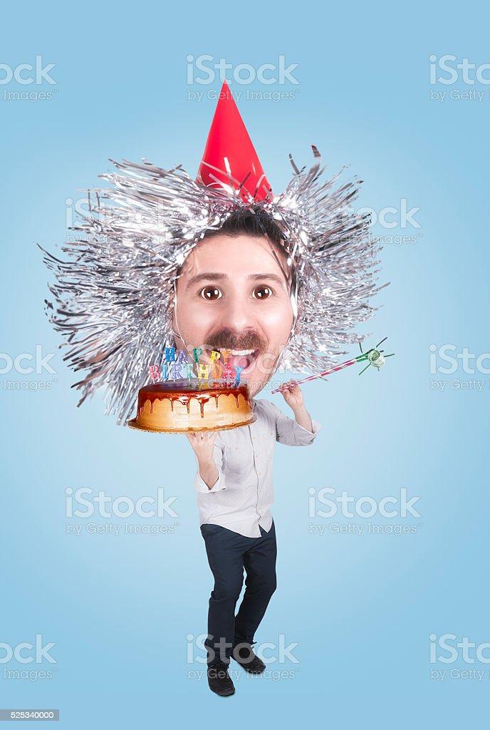 Birthday Party Elf stock photo
